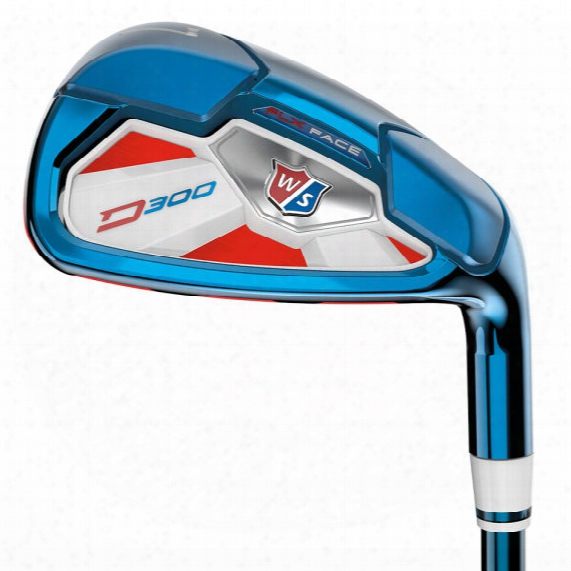 Wilson Staff Limited Edition Pvd D300 8pc Iron Set - Steel