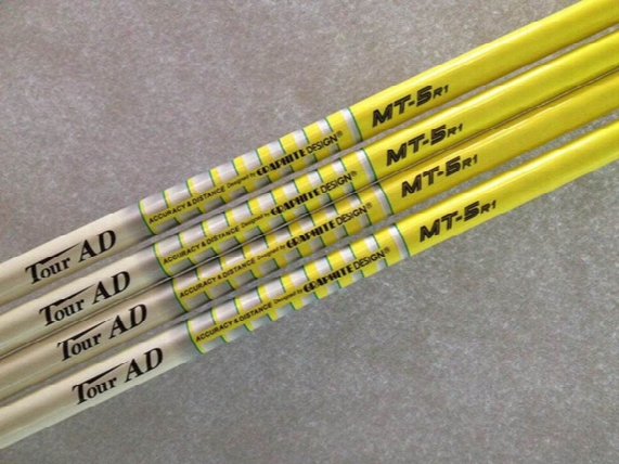 10pcs Golf Shafts New Tour Ad Mt-6s/5s/5r1 Graphite Shaft Golf Clubs Driver Woods Shafts