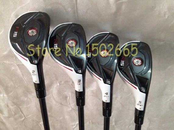 2015 New Golf Clubs R15 Hybrid Rescue 2# 3# 4# 5# 4pcs/lot R15 Golf Hybrid Free Golf Headcover R15 Rescues