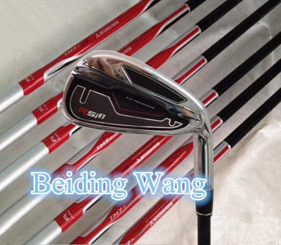 2015 New Golf Rsi 1 Irons Set #4,5,6,7,8,9,p,a,s With Graphite R Flex Shaft Golf Rsi1 Irons Clubs