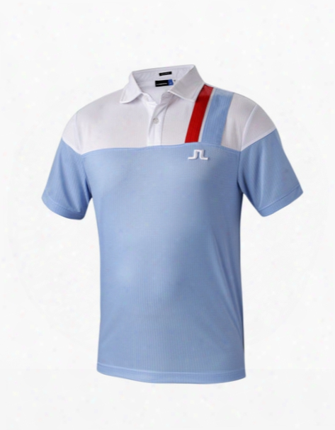 2016 New Men's Golf T-shirts Summer Short-sleeve Breathable Quick Dry Golf Sport Polo Shirt Men's Short Sleeve Top 6 Colors