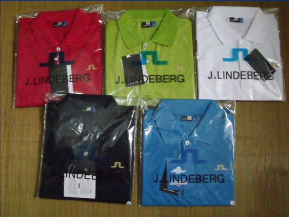 2017 Factory J.lindeberg Golf Short Sleeve T Shirt Jersey Authentic Quality Freeship
