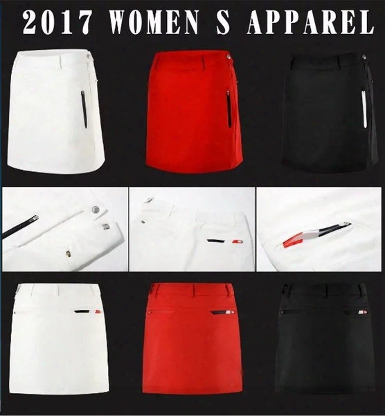 2017 Fashion Women Quickly Dry Sport Wear Skirt Golf Shorts Golf Dress 3 Colors