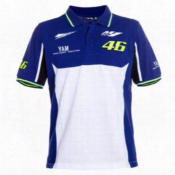 2017 Newest T-shirt Valen Rossi Vr46 T Shirt Moto Gp M1 Factory Racing Polo Shirt Golf Cotton Official Shirt