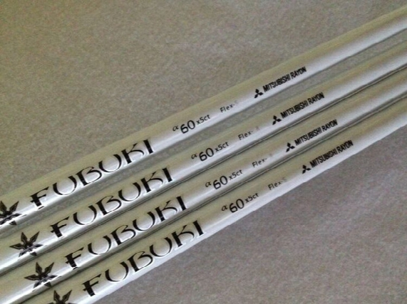 5pcs Golf Shafts Mitsubishi Rayon Fubuki 60x5ct Graphite Shaft Flex-r/s Golf Clubs Driver Woods Shafts