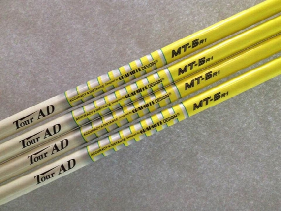 5pcs Golf Shafts New Tour Ad Mt-5r1 5s 6s Graphite Shaft Golf Clubs Driver Fairway Woods Shaft
