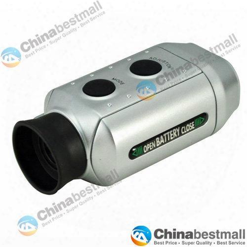 7x Digital Golf Range Finder Rangefinder Golfscope Scope Yards Measure Distance Scope With Bag