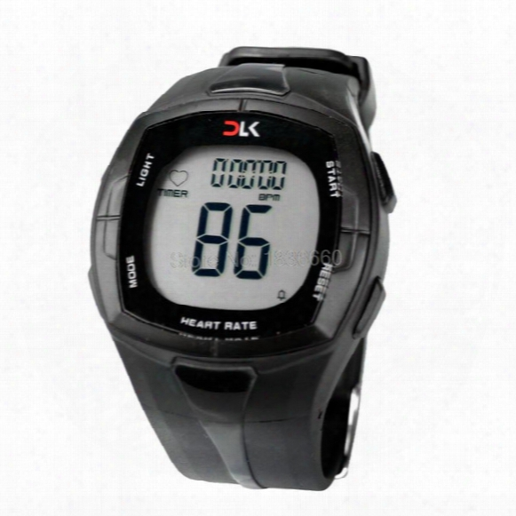 Atches Golf Fitness Pulse Calories Wireless Heart Rate Monitor Digital Polar Watch Men Women Sports Wristwatches Running Cycling Chest St...