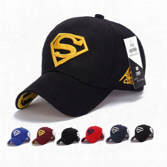Baseball Cap Sun Visors Hat Adult Or Teenagers Sports Caps Outdoor Sun Hat Superman Flat Hats For Golf Cap