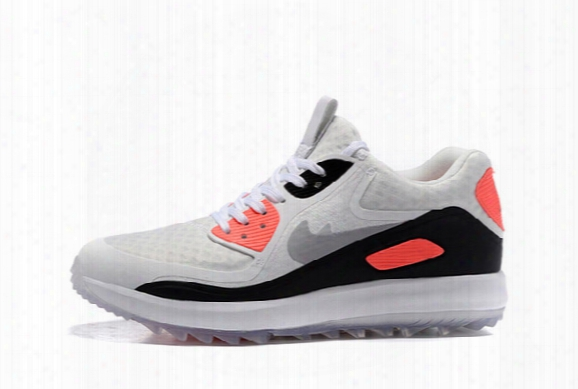 Best Quality 2017 Lunar Control 4 Golf Shoes Medium Air Zoom 90 It Sports Shoes Men Women Sneakers Size Us5-11 Free Shipping