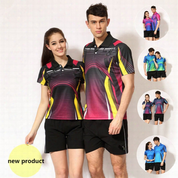 Brand T Shirts+short Set For Men Women Polo Shirts Vintage Sports Jerseys Golf Tennis Undershirts Casual Shirts Tennis Shirt