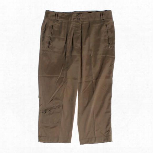Casual Capri Pants, Size 12