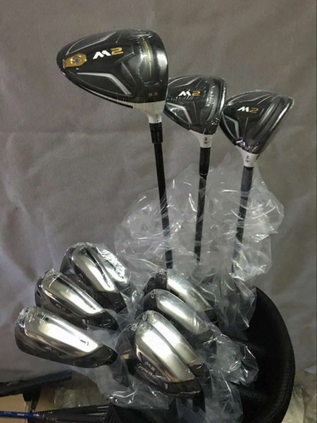 Complete Set Golf Clubs M2 Driver + M2 Fairway Woods 3# 5# + M2 Golf Irons 456789ps Come Headcover Total 11pcs