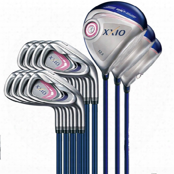 Discount Sale Full Set Women Xxio M P 900 Golf Clubs 3 Woods + 9 Irons R & S Flex Available