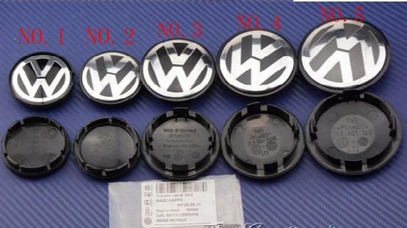 [fast Shipping]100pcs 65mm Car Wheel Cover Badge Wheel Hub Vw Center Caps Emblem For Vw 2eos Golf Jetta Mk5 Passat B6 Vw 3b7601171