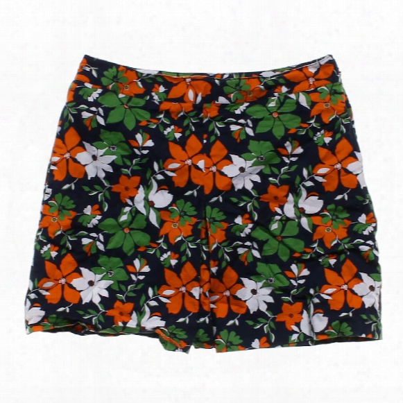Floral Skirt, Size 8
