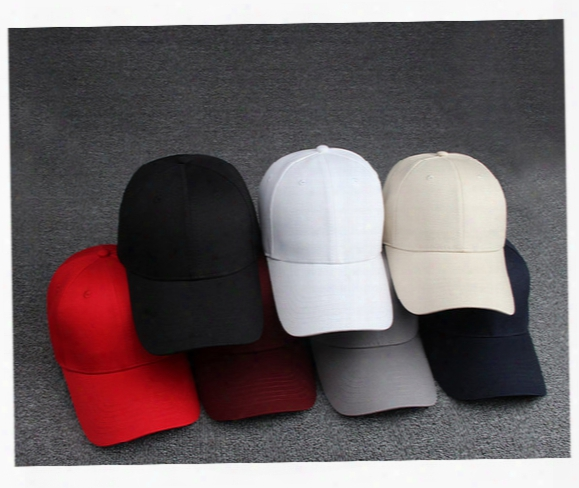 Free Shipping Cotton Cap Adjustable High Quality Light Color Golf Cap Golf Cap Solid Men And Women Baseball Cap