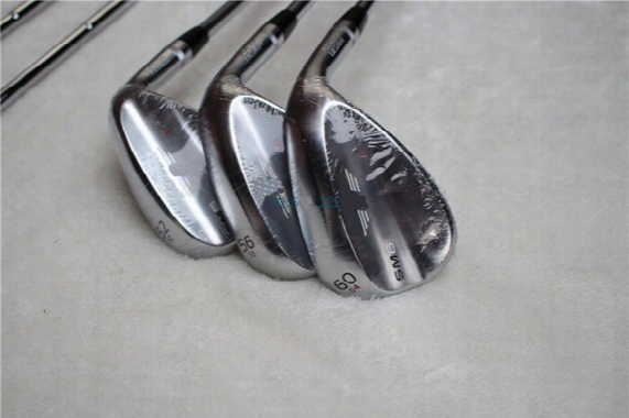 Free Shipping Silver S- M6 Golf Wedges Set 52,54,56,58,60 Loft Available 3pcs/lot More Pics Inquire Seller