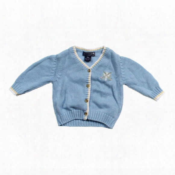 Golf Cardigan, Size 12 Mo