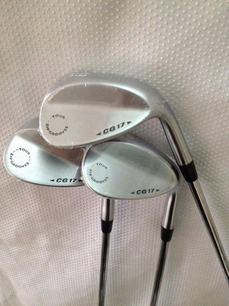 Golf Clubs Cg17 Wedges Black Silver 52.56.60 With Steel Shaft Cg-17 Golf Wedge Right Hand