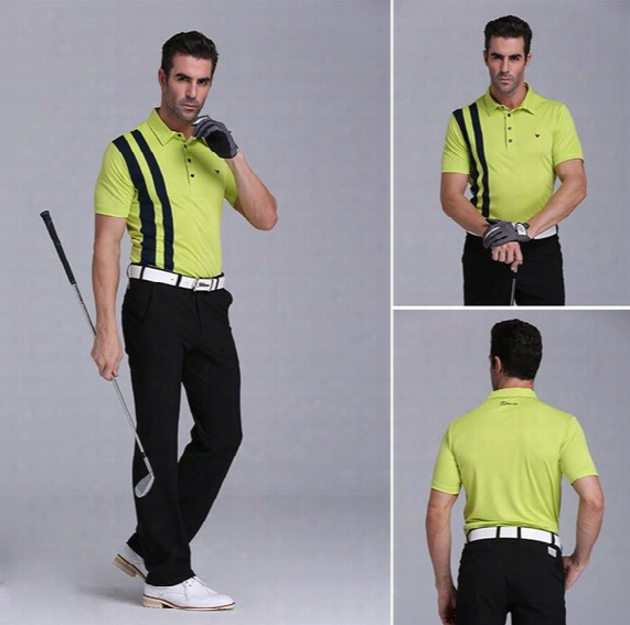 Golf Polo Shirt For Spring Summer Quick Dry Golf T Shirt Men Original Quality Golf Clothes Short Sleeves