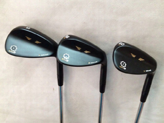 Golf Sm5 Wedges Black Silver.champagne 52 56 60 With Steel Shaft Sm5 Golf Clubs Wedges Right Hanf Aaa+