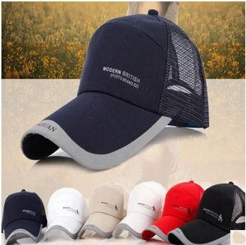 Good Quality Modern British Sports Brand Golf Baseball Caps Hiphop Unisex Snapback Hat Sun-proof Mix Colours
