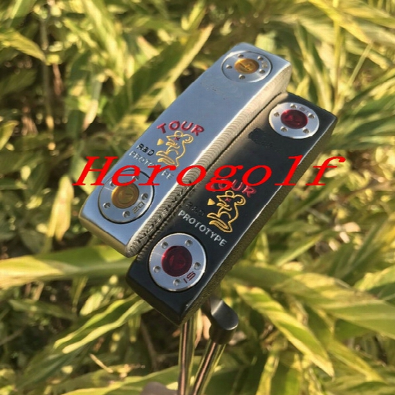 High Quality Golf Putter Circle T Concept 2 Rat Tour Pputter Silver/black Colors With Weights Removable Prototype Putter Golf Clubs