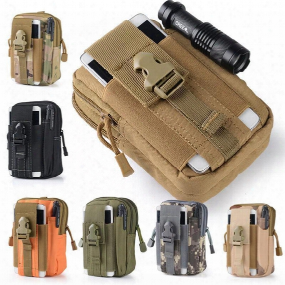 Large Capacity Tactical Molle Pouch Belt Waist Pack Bag Pocket Iphone For Iphone Military Waistpack Fanny Waistbag