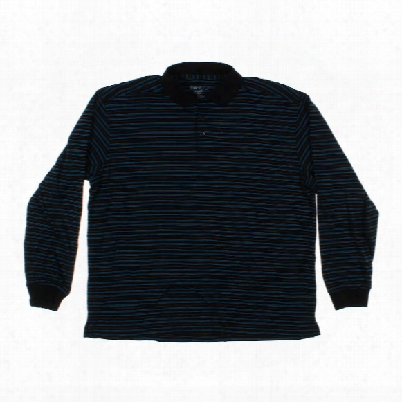 Long Sleeve Polo Shirt, Size Xl