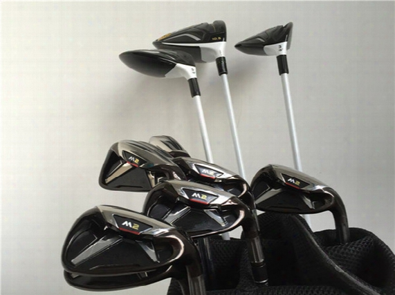 M2 Full Set M2 Set High Quality Golf Clubs Driver + Fairway Woods + Irons Graphite/steel Shaft With Cover