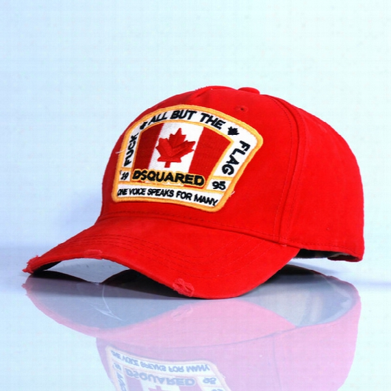 Maple Leaf Quality Icon Factory Wholesale Golf Baseball Cap Caps Hat Freeshipping