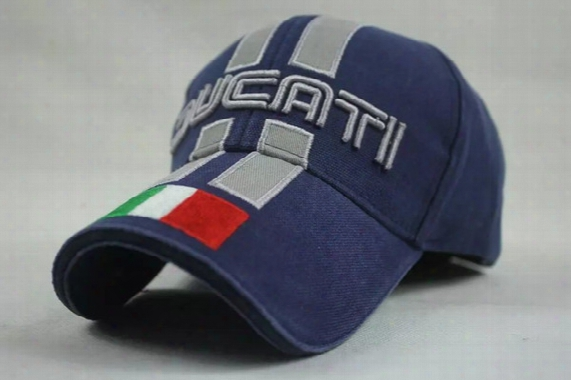 Men Women For Ducati F1 Moto.gp Motorcycle Racer Cap Hat Golf Sunhat Blue Black