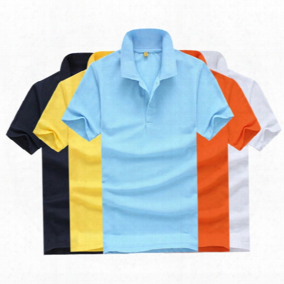 New 2017 Men's Brand Polo Shirt For Men Designer Polos Men Cotton Short Sleeve Shirt Jerseys Golf Tennis Shirts Free Shipping