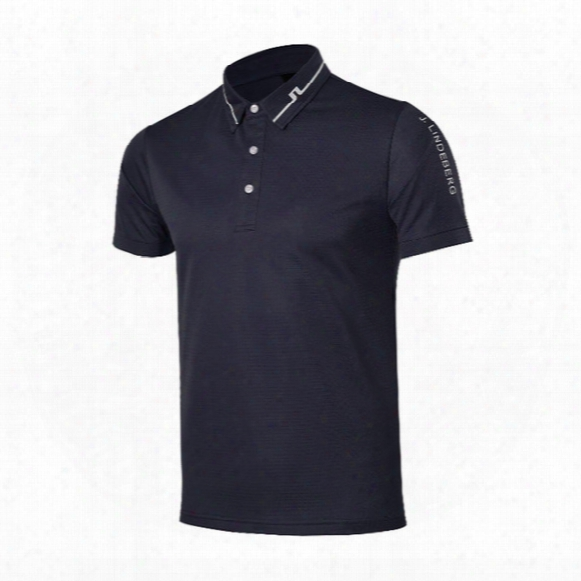 New Fashionable Jl Golf T-shirt Short-sleeve Golf Clothing 7colors S-xxl Size For Summer Sport Shirt Free Shipping