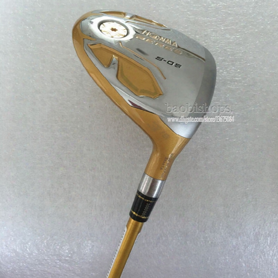 New Golf Clubs Honma S-05 4star Golf Fairway Wood 3/15 5/18 Loft 1pcs Graphite Golf Shaft And Wood Headcover Free Shipping