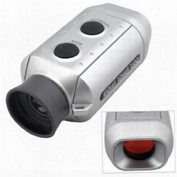 New Golf Scope Mini Digital 7x Golf Range Finder Golfscope Scope +case For 1000 Yards With Padded Case