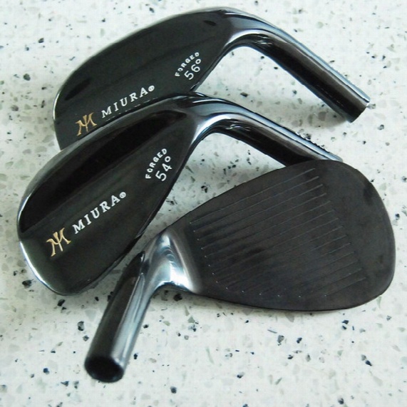 New Mens Golf Head Miura Golf Wedges Head 52.56.60 3pcs/lot Wedges Clubs Head Free Shipping