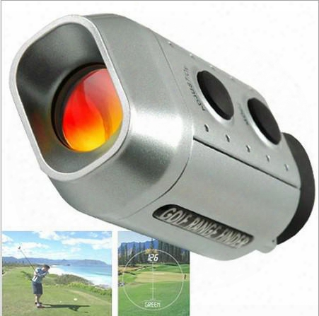 New Portable Digital 7x Golf Scope Range Finder Distance 1000m With Padded Case
