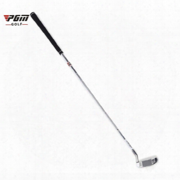 Pgm Golf Double-side Chipper Mallet Rod Grinding Push Rood Baseline Design Stainless Steel Head Chipping Club (silver-white) +b