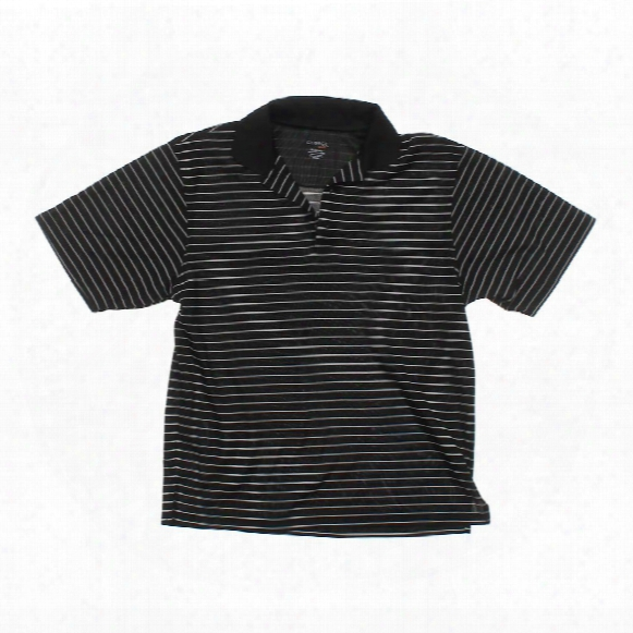 "Short Sleeve Polo Shirt, Size 38"" Chest"