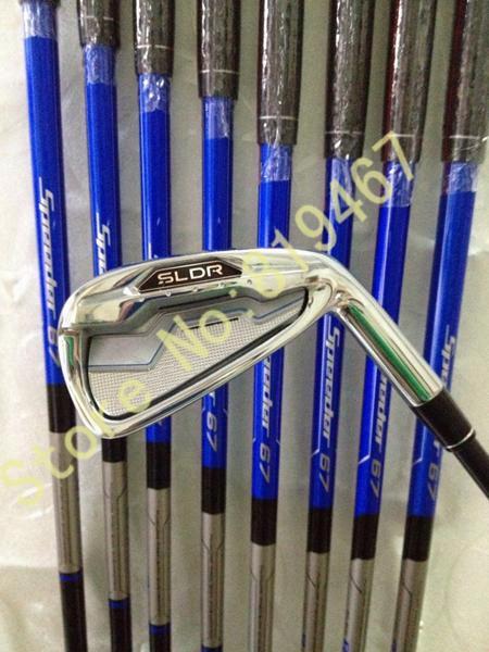 Sldr Golf Irons Set -9#,pas Graphite Shaft Regular Flex Include Headcover Golf Clubs 9pcs Sldr Irons