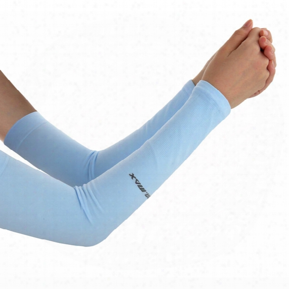 Solar Arm Sleeves For Golf For Cycling Cooling Arm Sleeves For Outdoor Sports Uv Protection Unisex