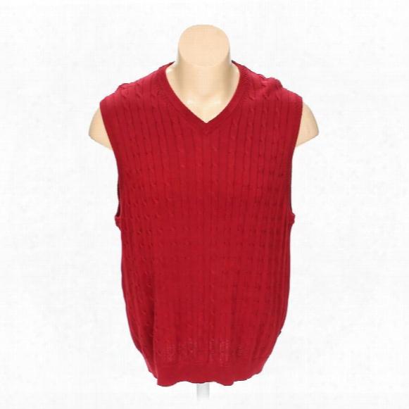 Sweater Vest, Size Xl