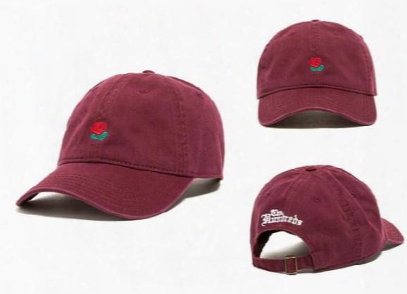 The Hundreds Ball Hat Snapbacks The Hundreds Rose Dad Cap Baseball Snapback Men Women Summer Fashion Golf Hat Cool Sun Hats