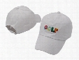 Tyler The Creator Golf Hat Black white Dad Caps Wang Cross T-shirt Earl Odd Future snapback caps