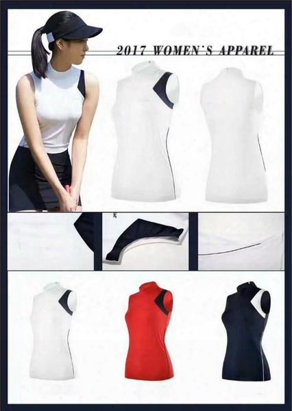 Ti Women's Summer No Sleeve Golf T-shirt