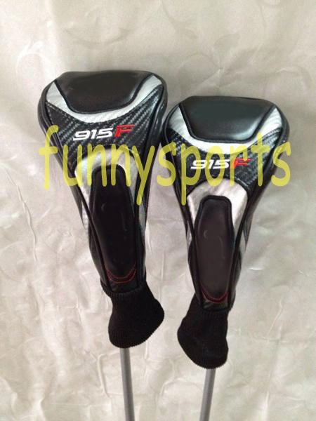 Top Quality Golf Clubs 915f #3 #5 Fariway Woods+ Headcovers R & S Flex Available More Pics Inquire Seller