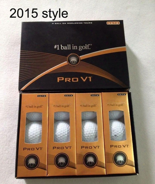 Top Quality New Golf Pro Balls 12pcs/box Three Piece Ball V1 Golf Pro V1 Balls Clubs