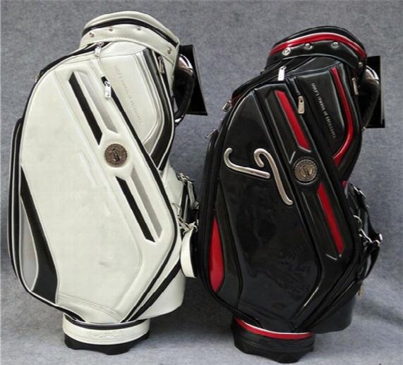 T.t Golf Bag Golf Cart Bag 2 Colors Available No.001 High Quality Pu Bag Golf Equipment Ems Free Shipping